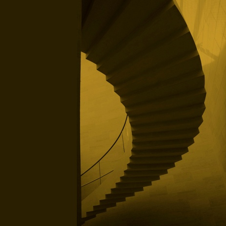 abstraction on stairs